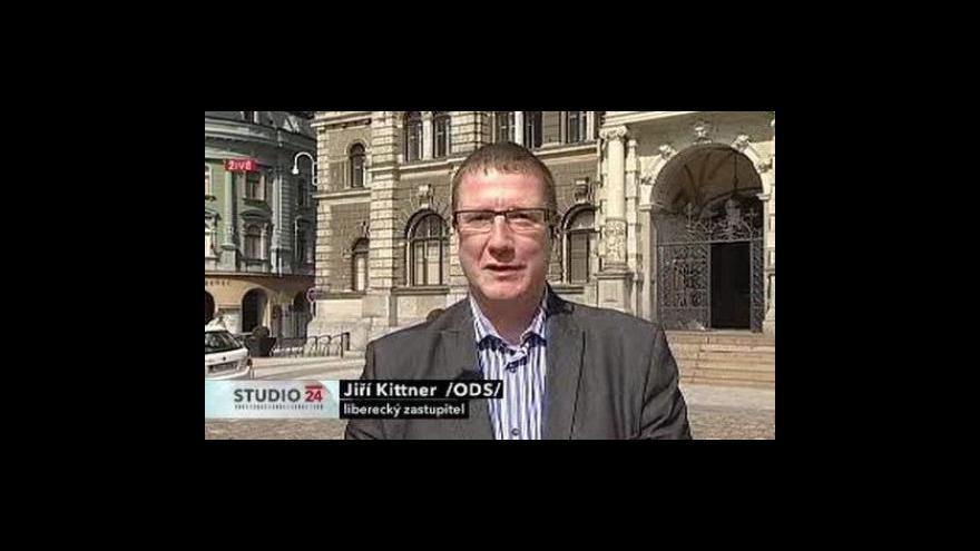 Video Živý vstup bývalého primátora Jiřího Kittnera (ODS)