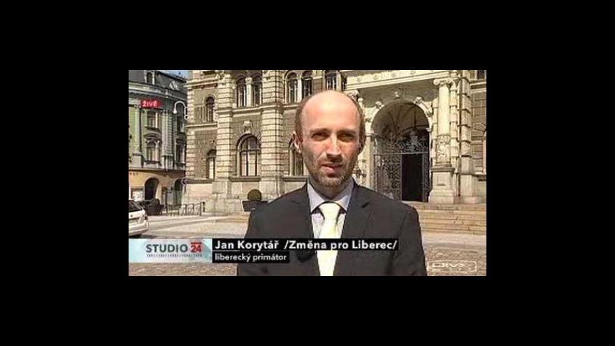 Video Živý vstup Jana Korytáře