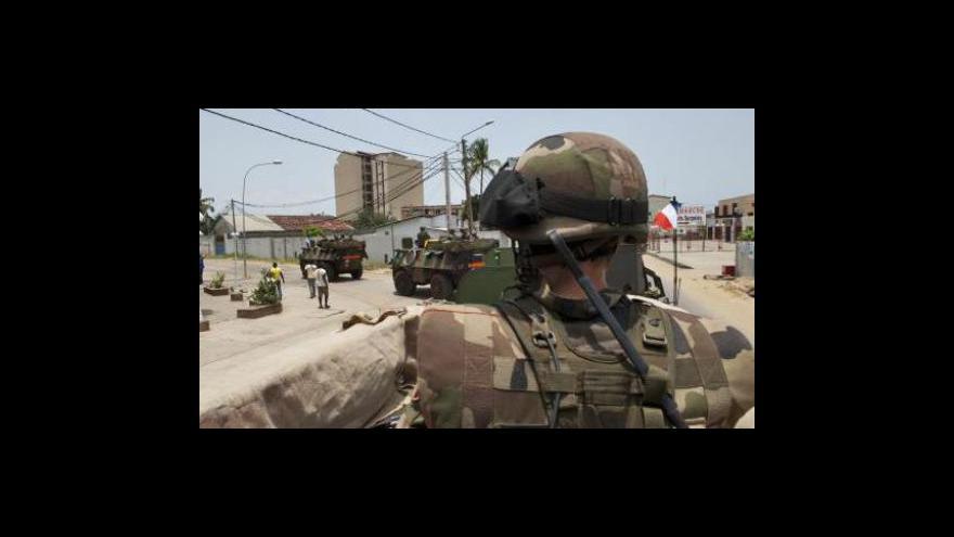 Video Boje v Pobřeží slonoviny