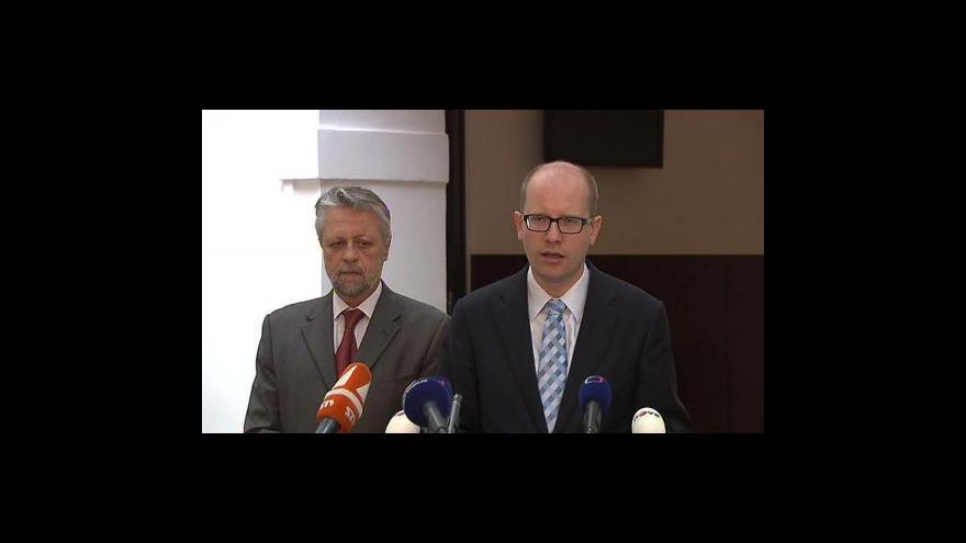 Video Brífink ČSSD ke kauze ProMoPro