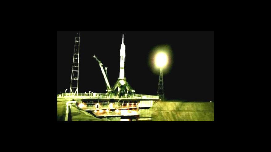 Video Sojuz-Gagarin míří k ISS
