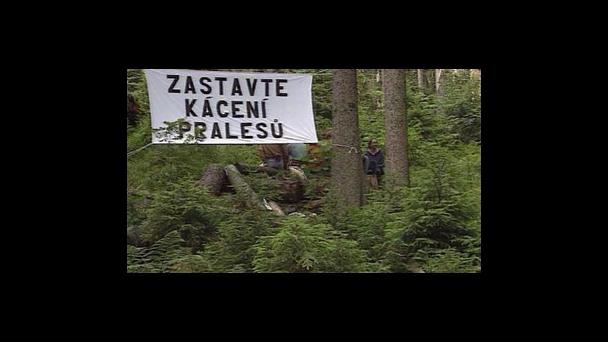 Video Reportáž a vstup Aleše Hazuky