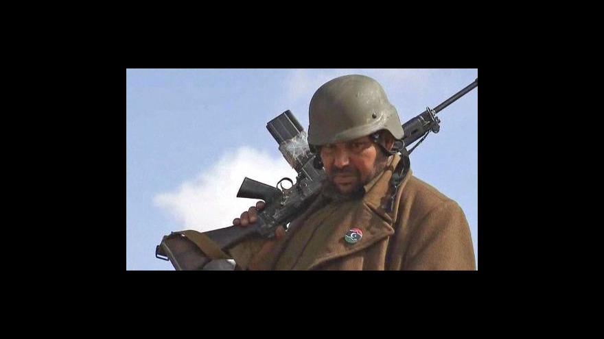 Video V Libyi se dál bojuje