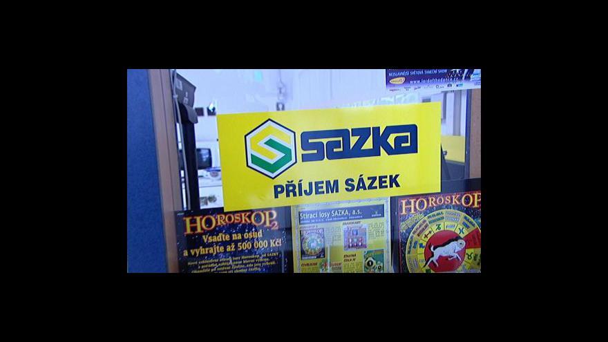 Video Kdo může za úpadek Sazky?