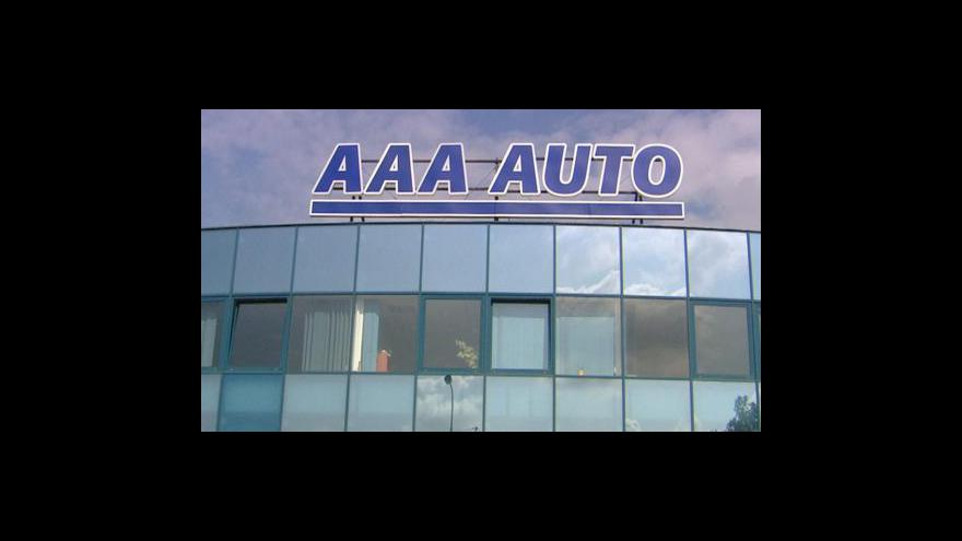 Video Bazary AAA Auto loni zvýšily zisk o 268 procent