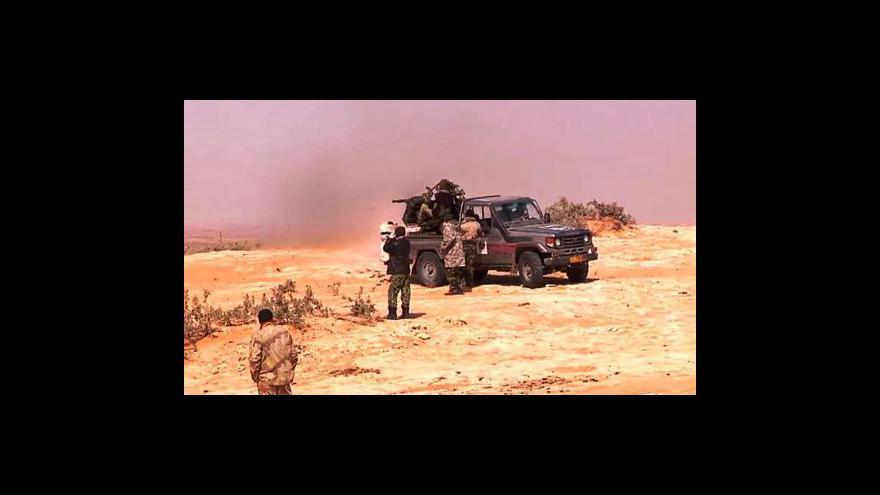 Video USA chce odchod Kaddáfího
