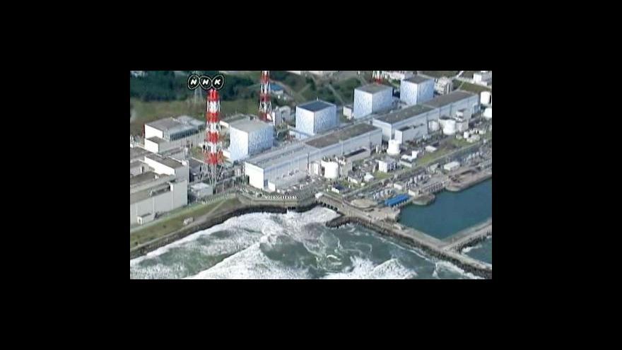 Video Technici ve Fukušimě se pokoušejí odčerpávat zamořenou vodu