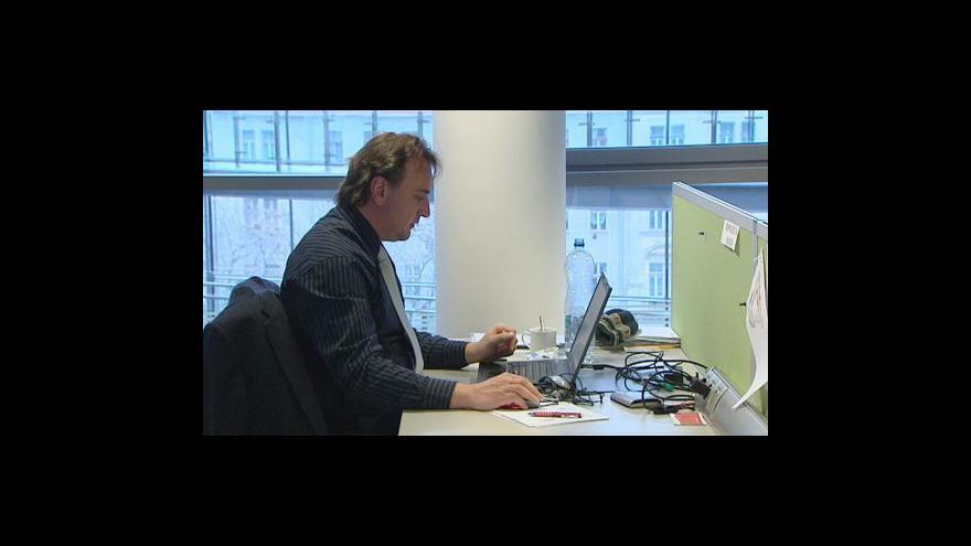 Video Pojištění pracovních agentur tématem Ekonomiky ČT24