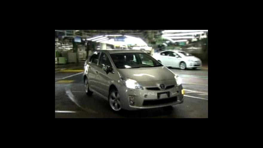 Video Toyota obnovila výrobu