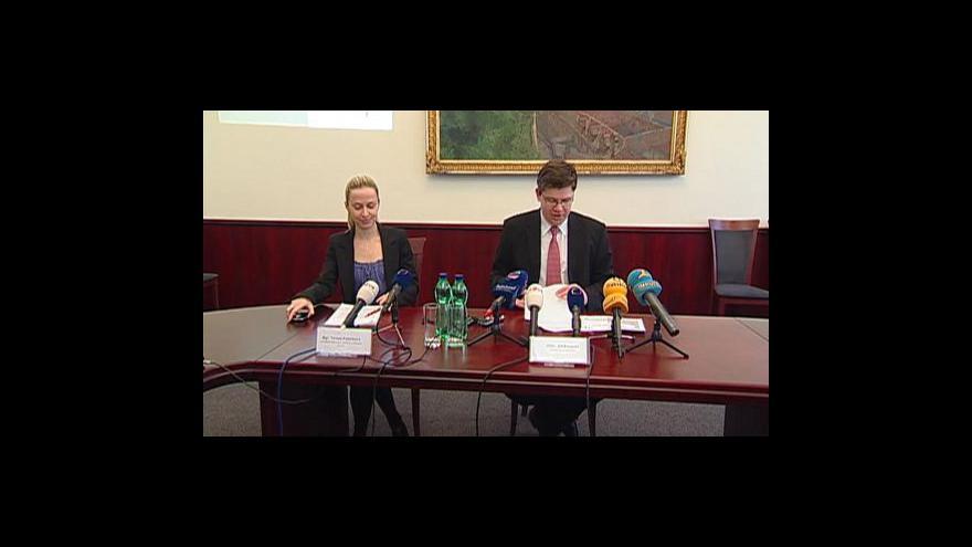 Video Brífink Jiřího Pospíšila k Nejvyššímu soudu