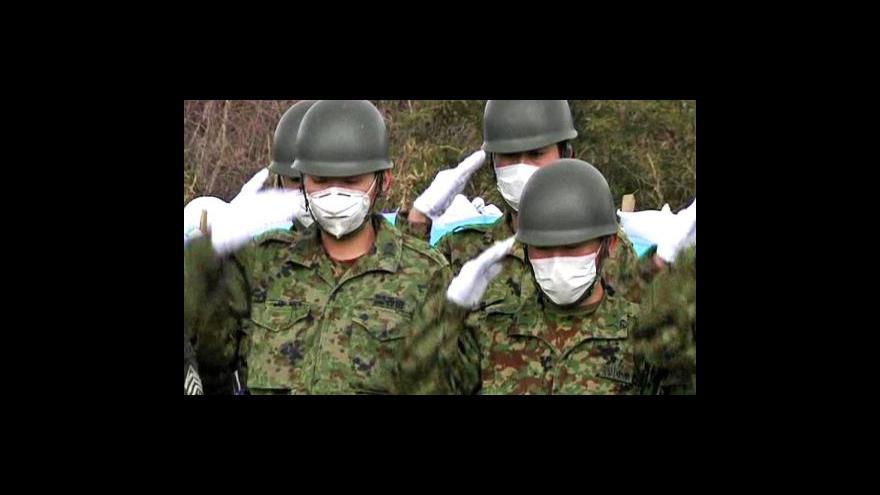 Video Japonští technici zjišťují zdroj úniku radiace