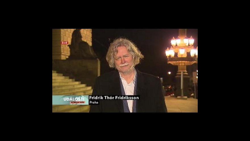 Video Fridrik Thór Fridriksson v Událostech, komentářích