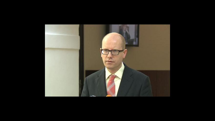 Video Brífink Bohuslava Sobotky