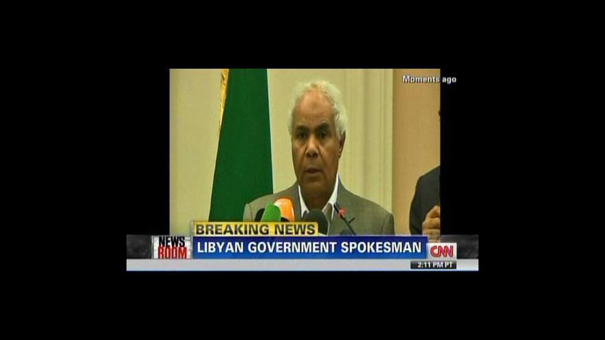 Video Reakce libyjské vlády