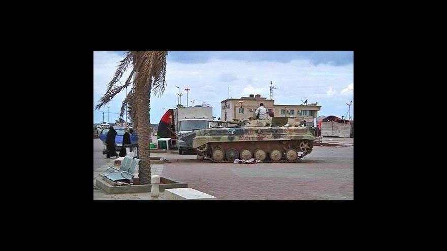 Video Rezoluce proti Libyi tématem Událostí, komentářů