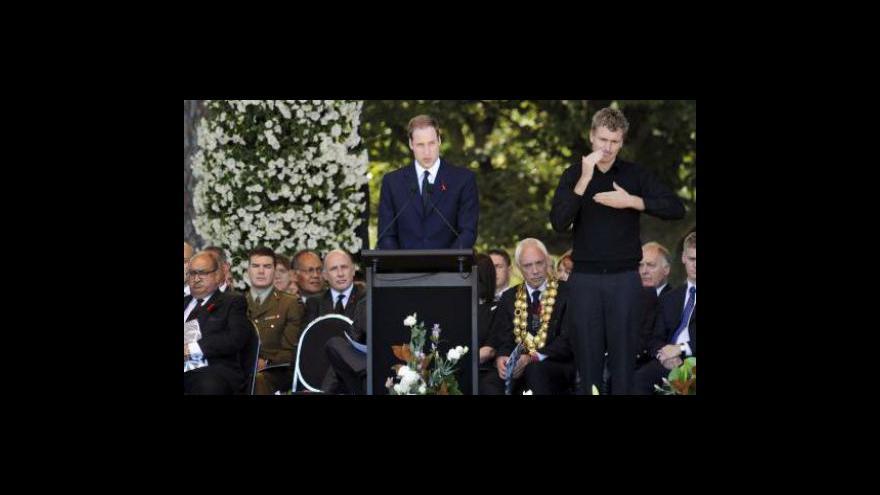 Video Nový Zéland si připomněl památku obětí zemětřesení