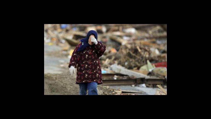 Video Japonsko uctilo oběti zemětřesení