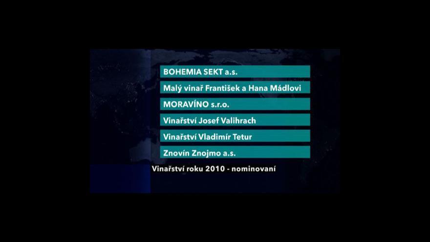 Video Vinařství roku 2010