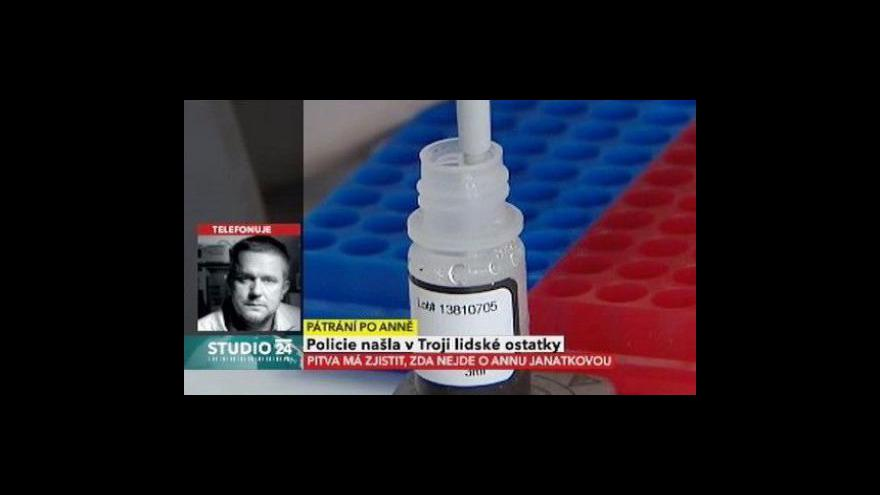 Video Rozhovor s Danielem Vaňkem z forenzního DNA servisu