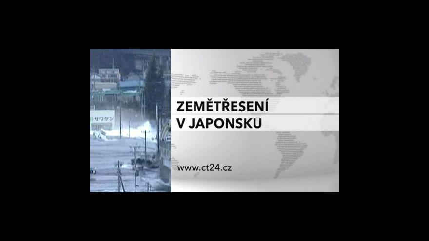 Video Události: Katastrofa v Japonsku