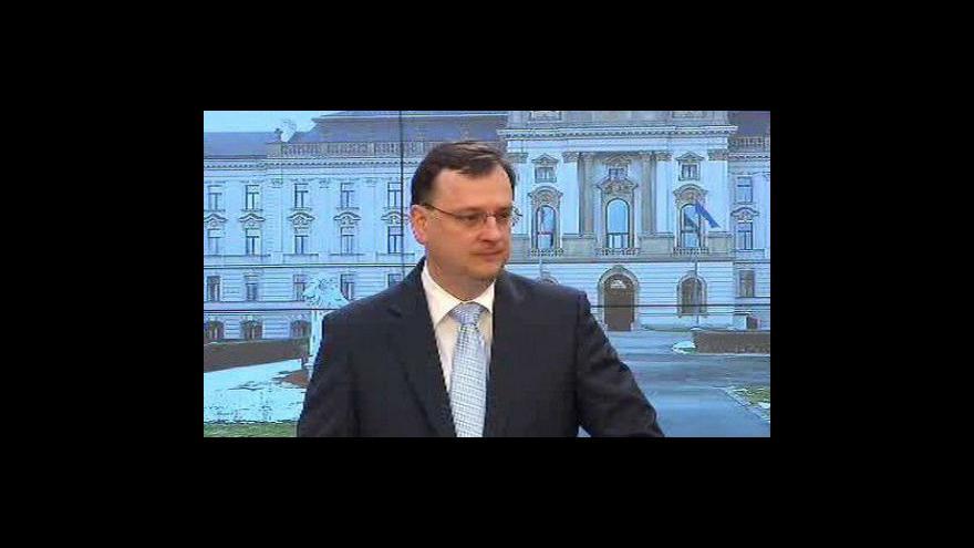 Video Brífink po jednání vlády