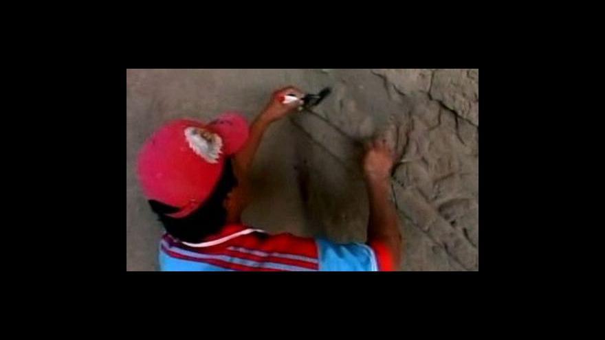 Video Vzácné nálezy v Peru
