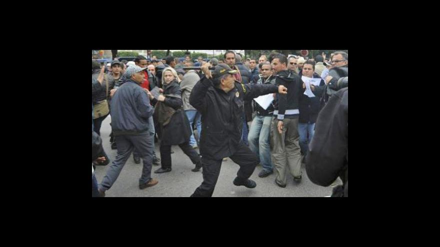 Video V Tunisku končí tajná policie