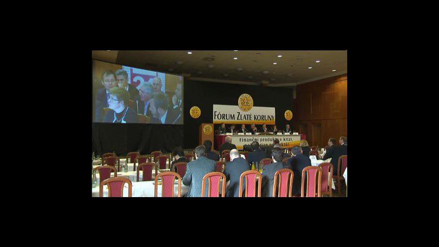 Video IX. Fórum Zlaté koruny - odpolední část