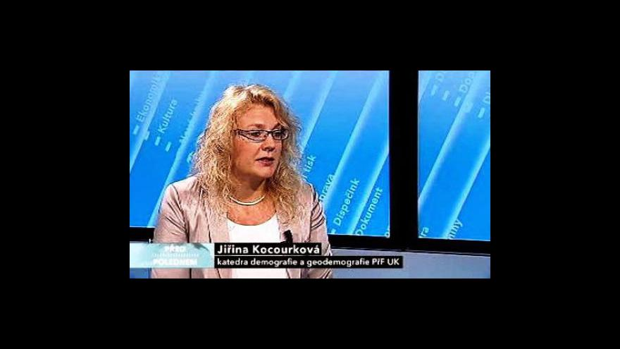 Video Rozhovor s Jiřinou Kocourkovou