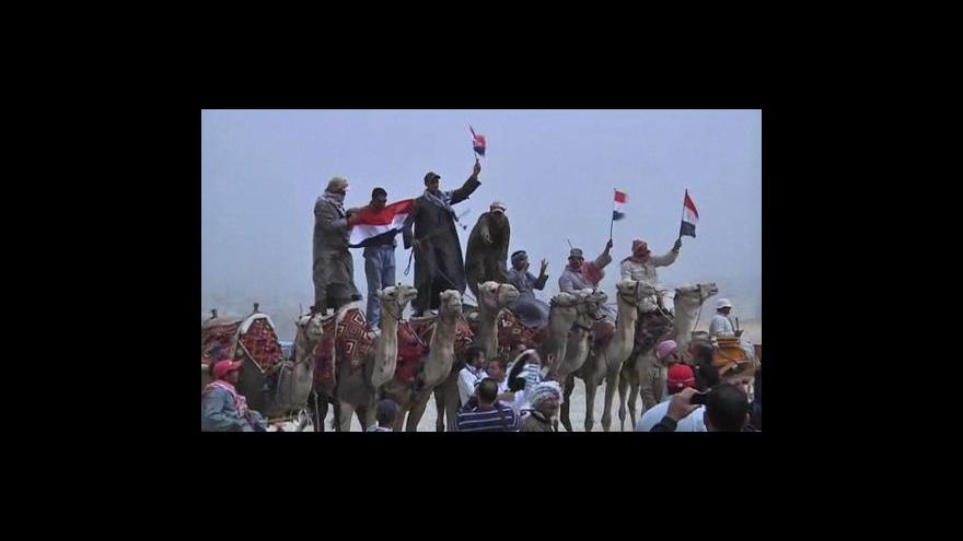 Video Turisté se do Egypta nehrnou