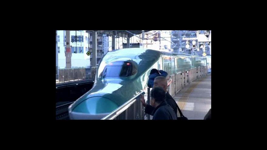 Video Japonci modernizují rychlovlaky