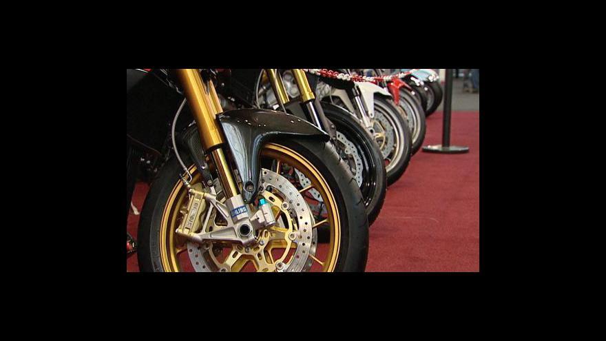 Video V Praze začínají dvě motocyklové výstavy