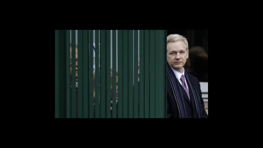 Video Assangemu vyprší lhůta pro odvolání