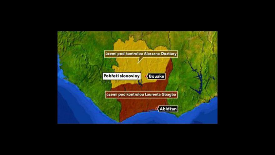 Video Situace v Pobřeží slonoviny se dramatizuje