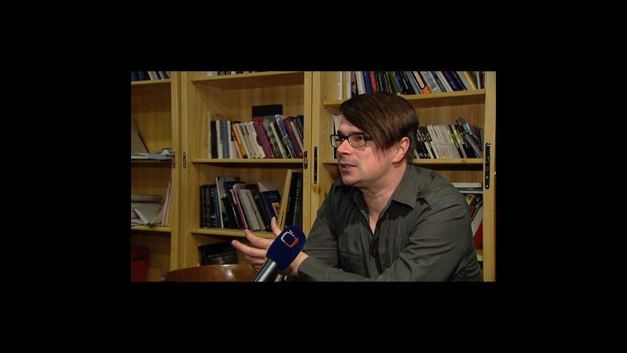 Video Knižní novinky komentuje Jaroslav Rudiš