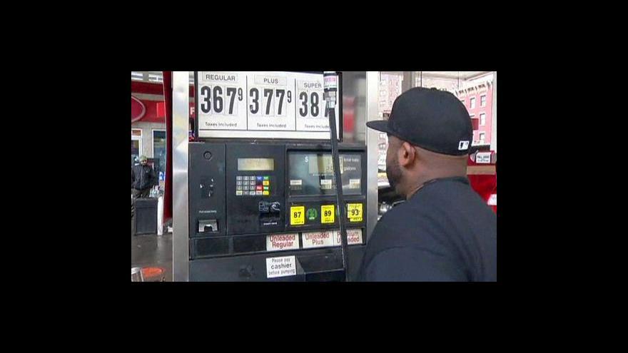 Video Svět se bojí drahého benzínu