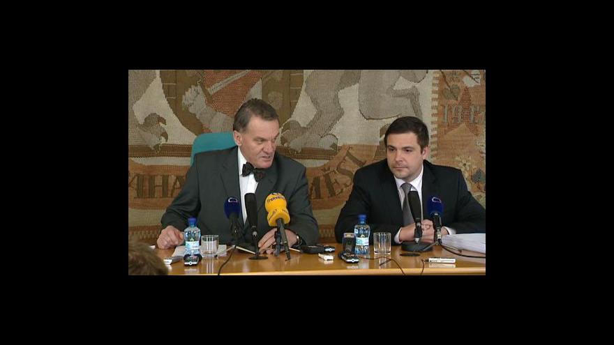 Video Brífink pražského magistrátu po jednání rady