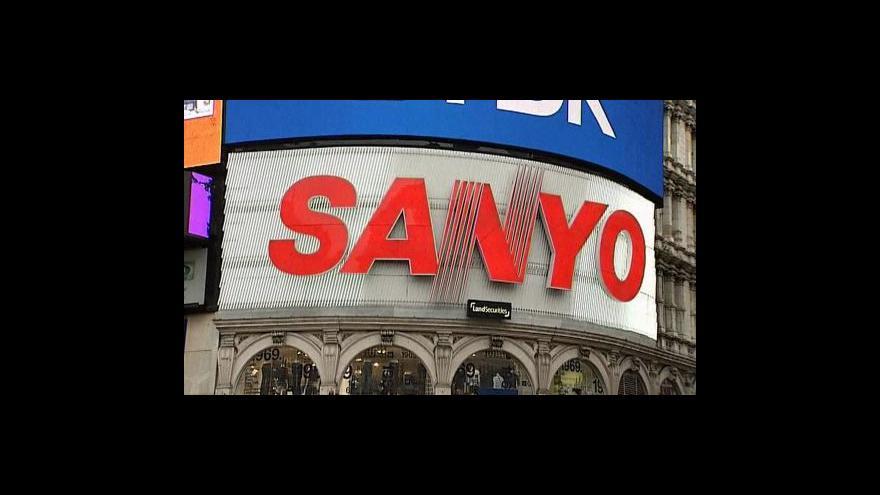 Video Sanyo pryč z Piccadilly Circus