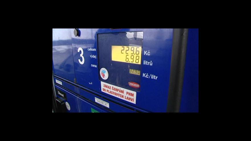 Video Drahý benzin