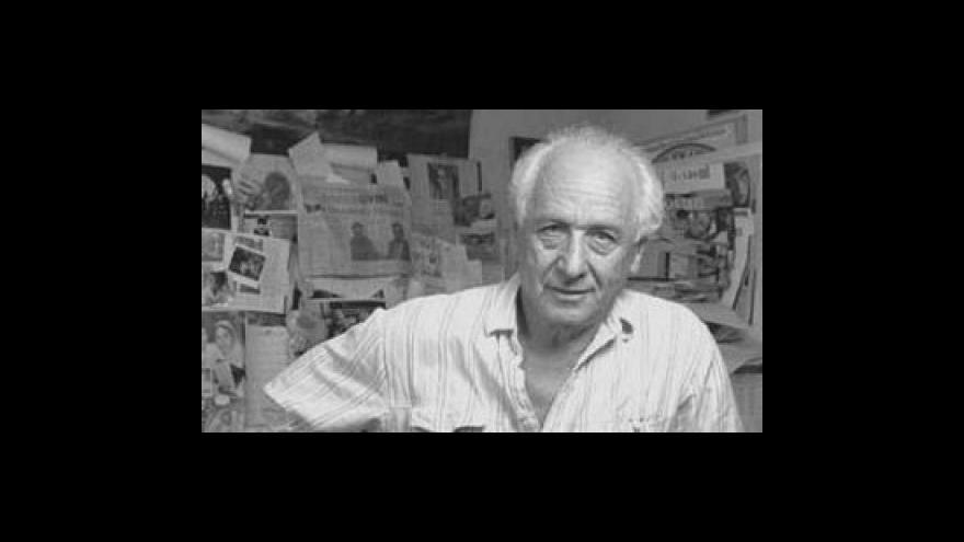 Video Arnošt Lustig o extremismu a popírání holocaustu