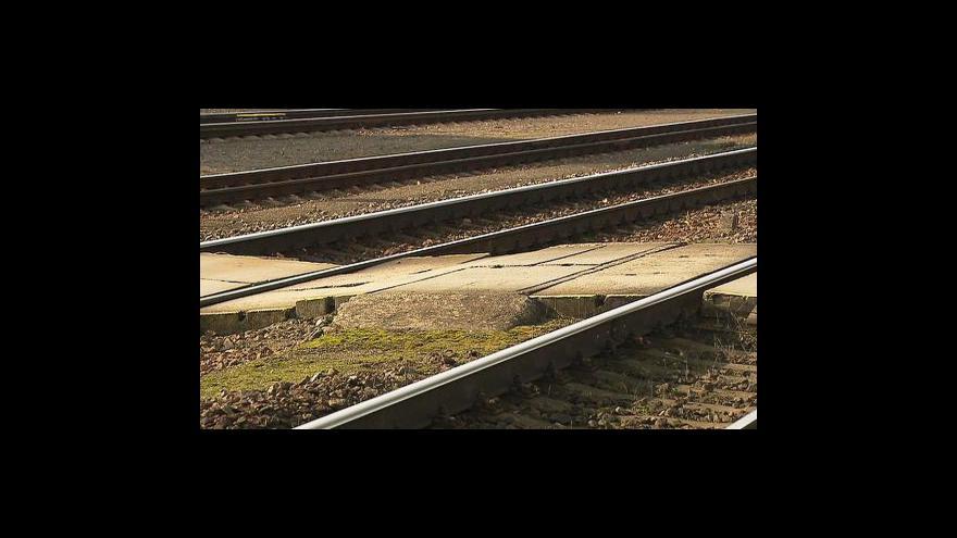 Video Komplikace na trati Praha–Beroun