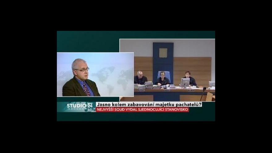 Video Soudce Ladislav Hejtmánek ve Studiu ČT24
