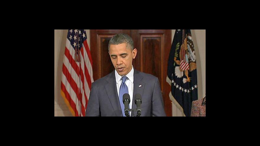 Video Projev Baracka Obamy k Libyi