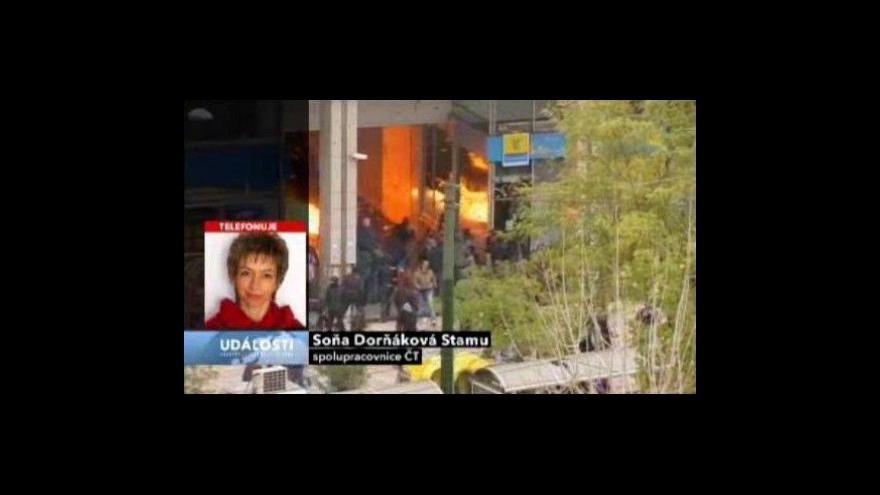 Video Telefonát Soni Dorňákové