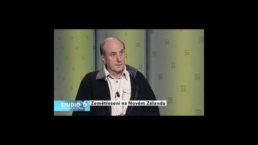 Video Rozhovor se seismologem Janem Zedníkem