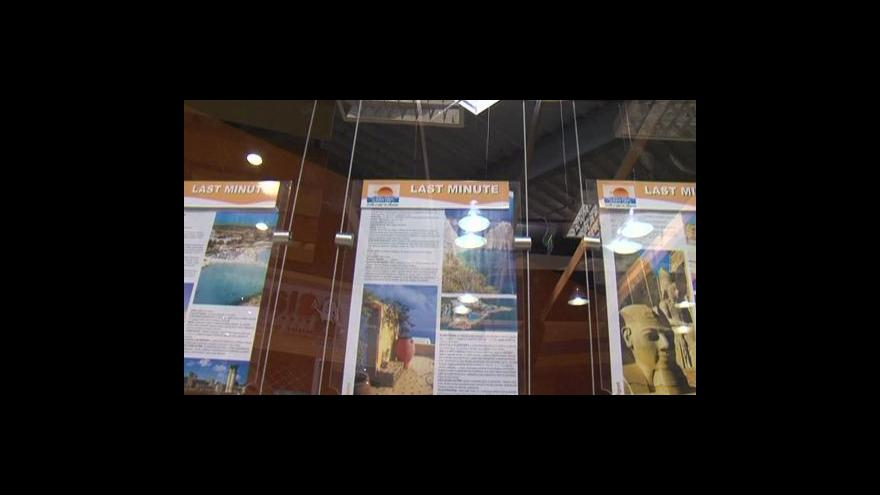 Video České cestovky obnovují turistické lety do Egypta