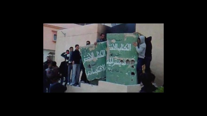 Video Napětí v Libyi eskaluje