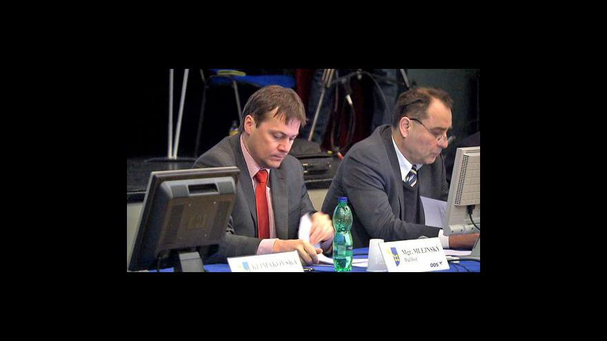 Video Eva Davidová o jednání zastupitelů Prahy 11