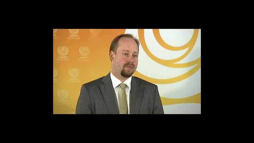 Video Brífink ČSSD o poklesu mezd ve veřejné sféře