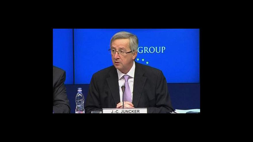 Video Schůzka ministrů eurozóny